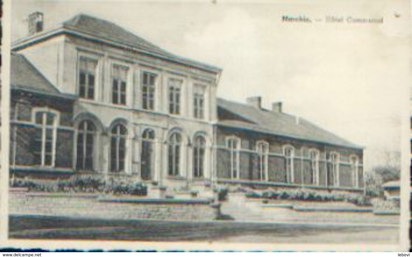 MARCHIN « Hôtel Communal » - Ed. A. Smetz, Saint-Servais - Marchin