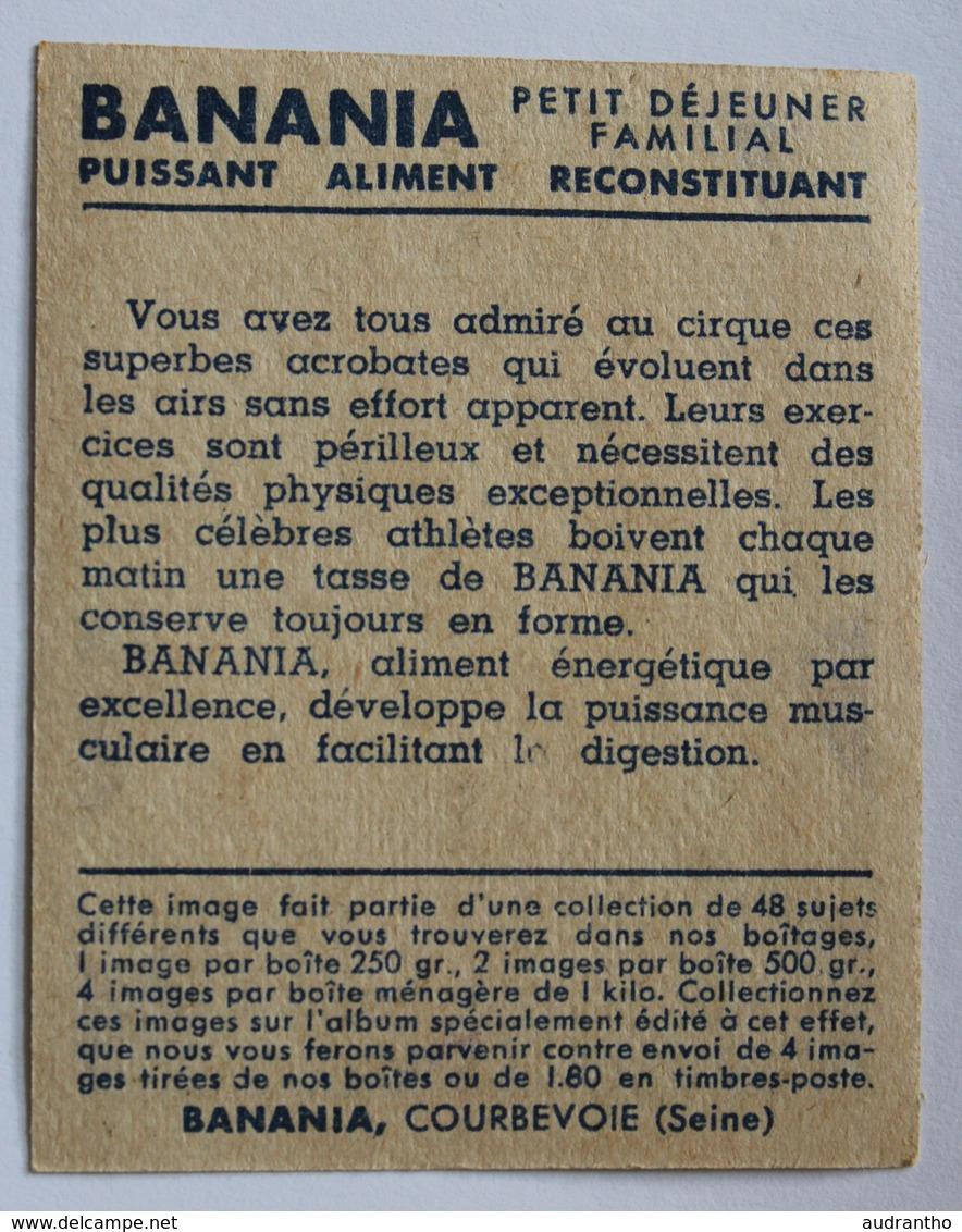 Image Ancienne Banania Album 1936 Acrobate Trapéziste N°40 Courbevoie - Banania