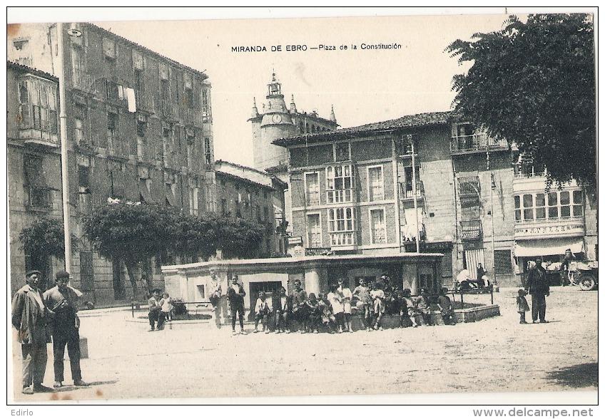 *** MIRANDA DE EBRO  Plaza De La Constitution - Unused TTB - Burgos