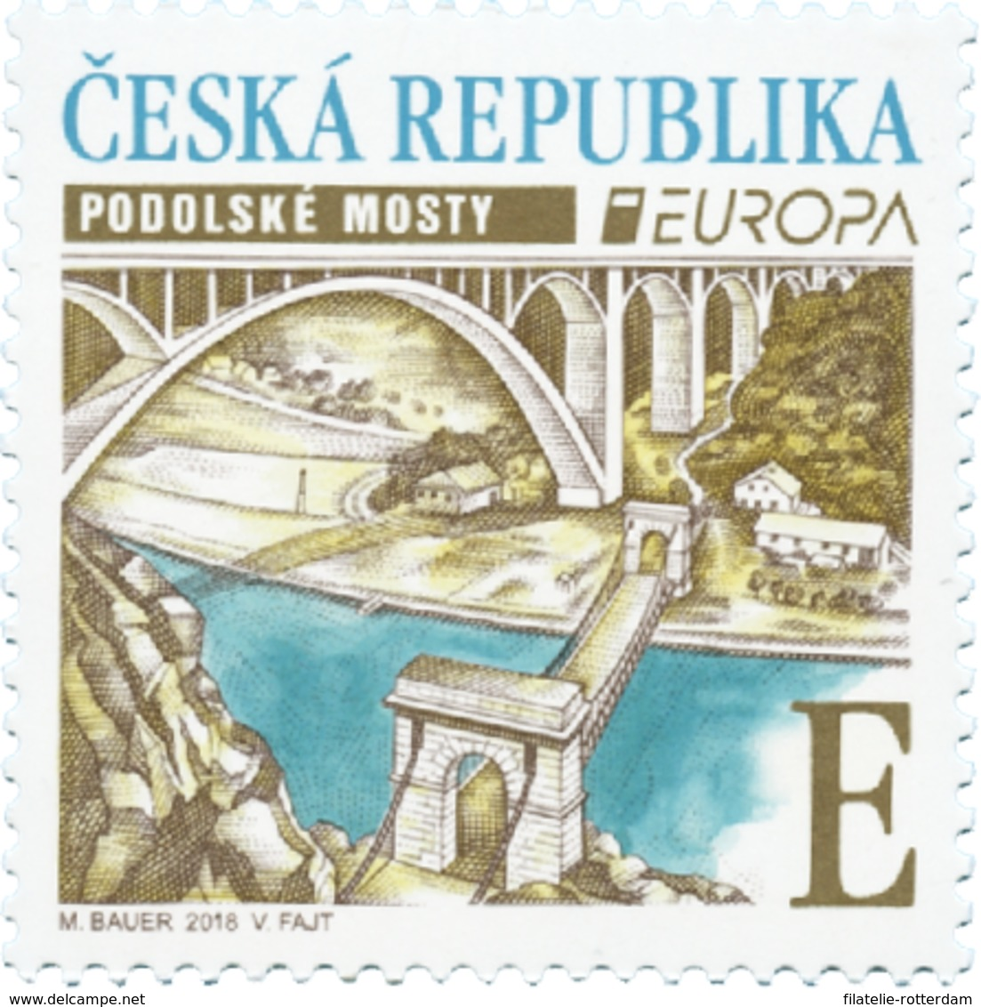 Tsjechië / Czech Republic - Postfris/MNH - Europa, Bruggen 2018 - Tsjechië