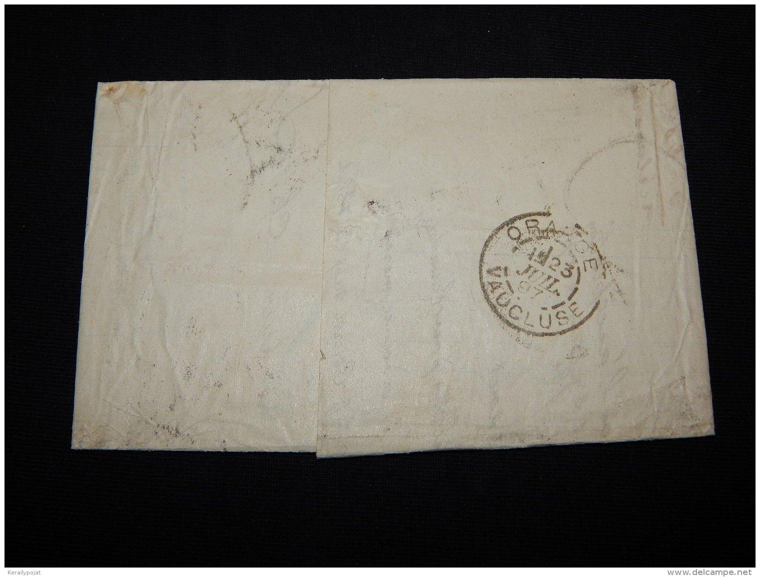 France 1897 Lyon Letter__(L-19299) - Francia