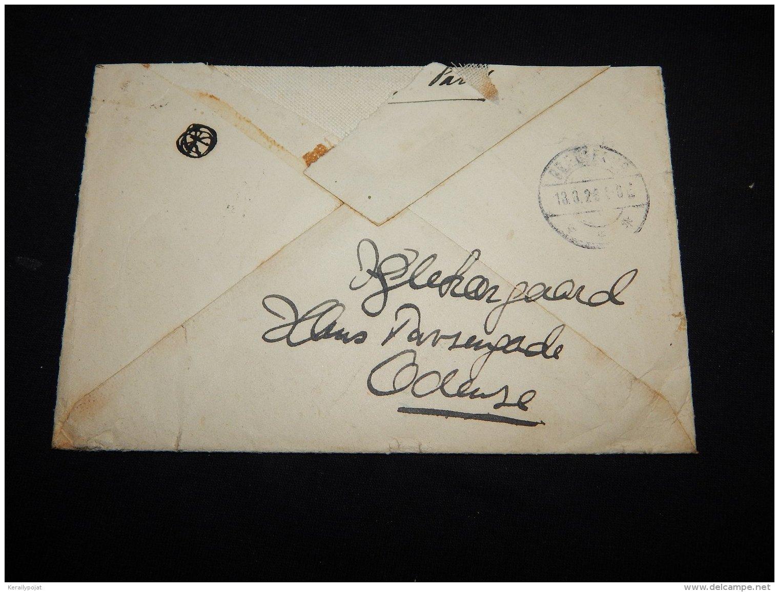 France 1928 Registered Cover__(L-18763) - France