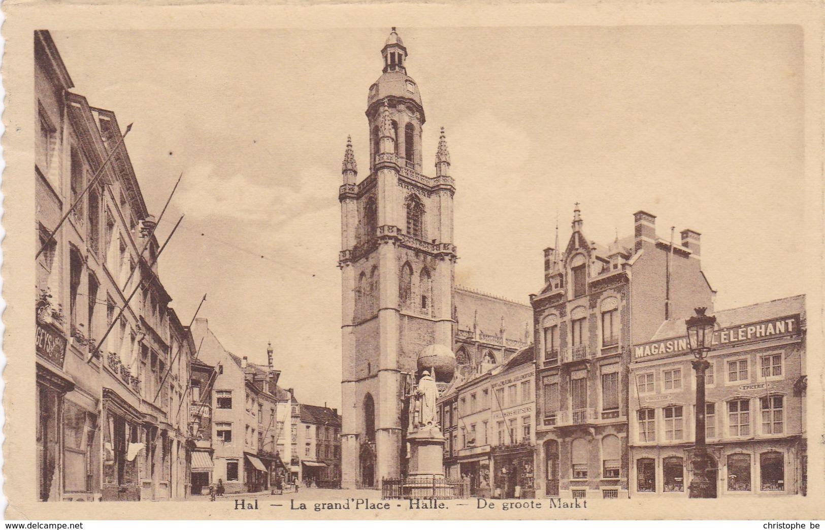 Halle, De Grote Markt (pk49782) - Halle