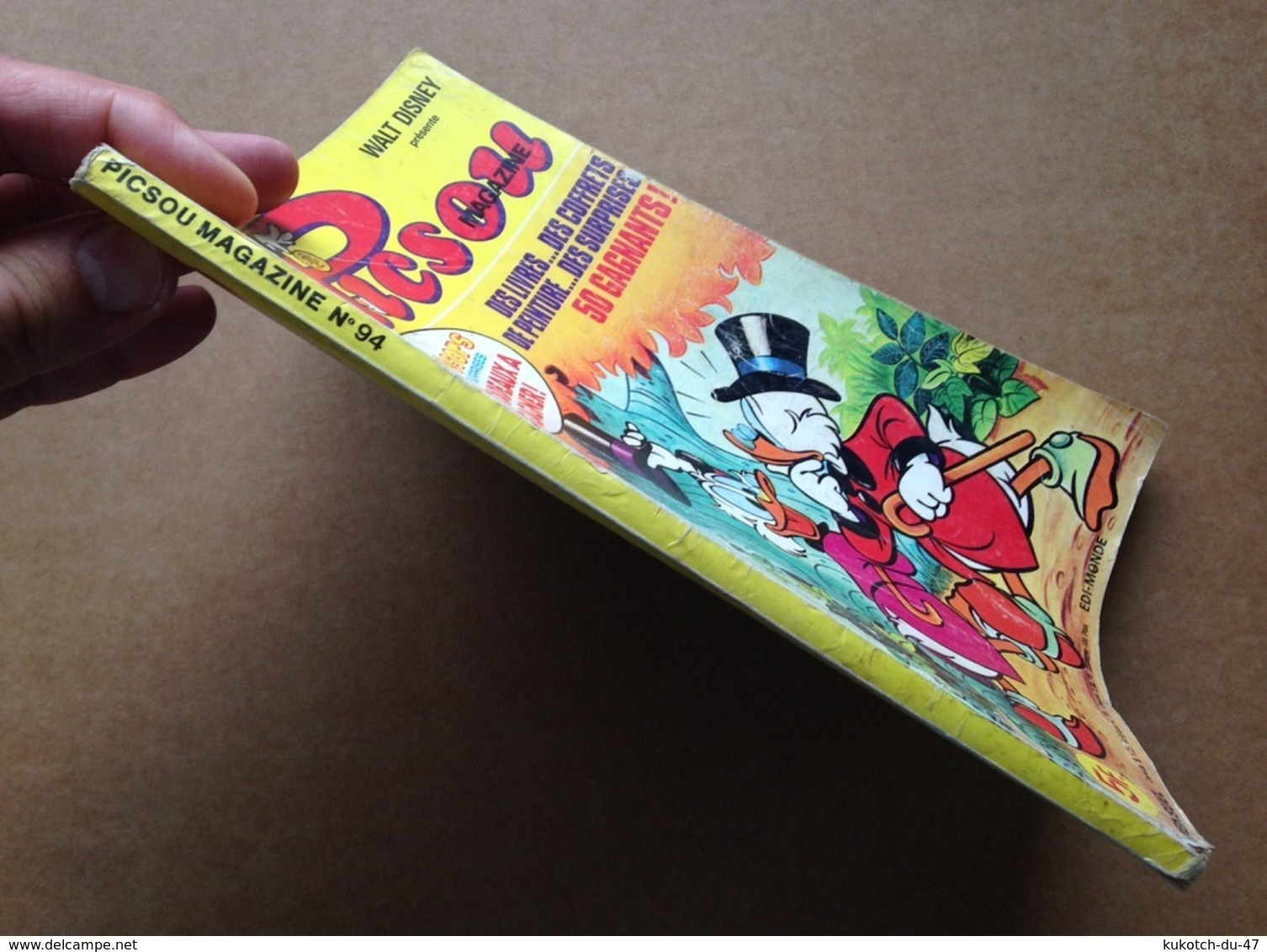 Disney - Picsou Magazine - Année 1979 - N°94 (avec Grand Défaut D'usure) - Picsou Magazine