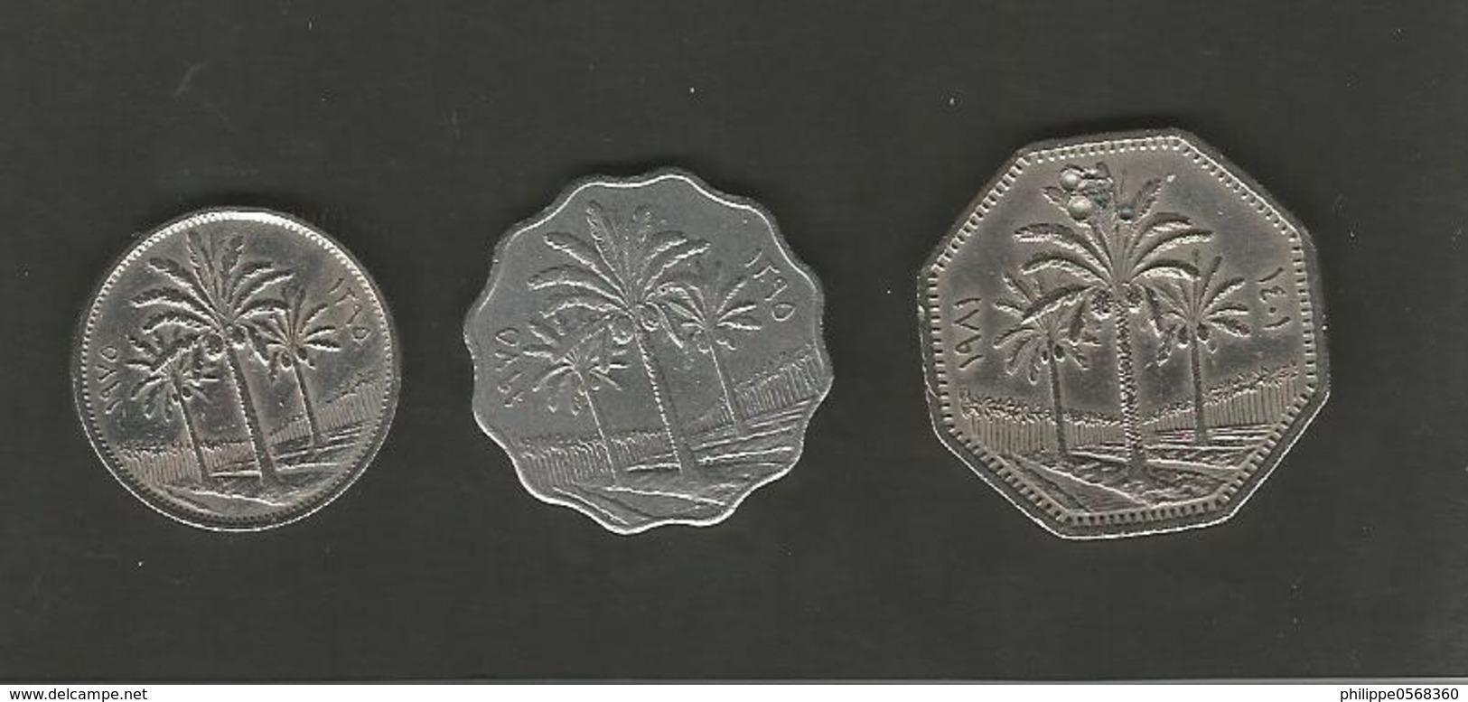 Lot De Monnaies Irakiennes - Iraq