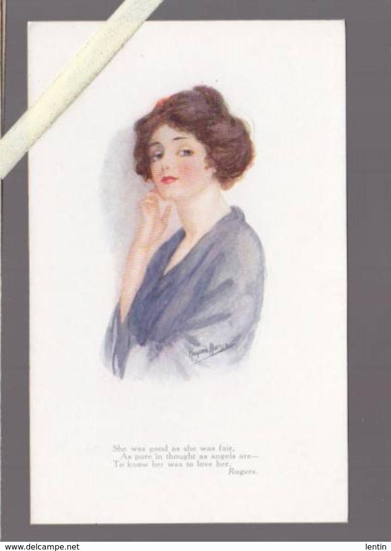 Illustrateur  - Marjorie Mostyn - Tuck's Oilette N° 2986 - Femme - Autres Illustrateurs
