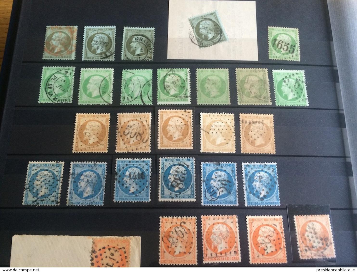 LOT #38-3 FRANCE Collection Timbres Classiques Ceres 5 6 9 33 émission Bordeaux - France