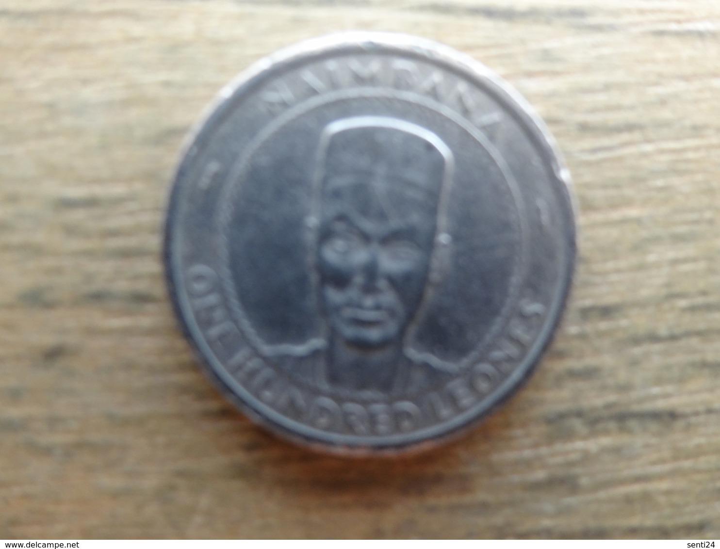 Sierra  Leone  100 Leones  1996  Km 46 - Sierra Leone