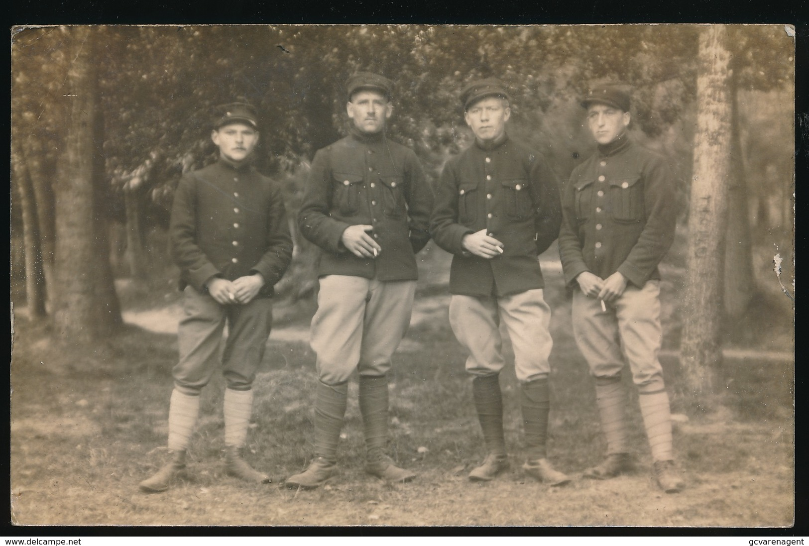 UDEN - VLUCHTOORD - FOTOKAART  -  UDEN  23 SEPT  1915 - 2 SCANS - Uden