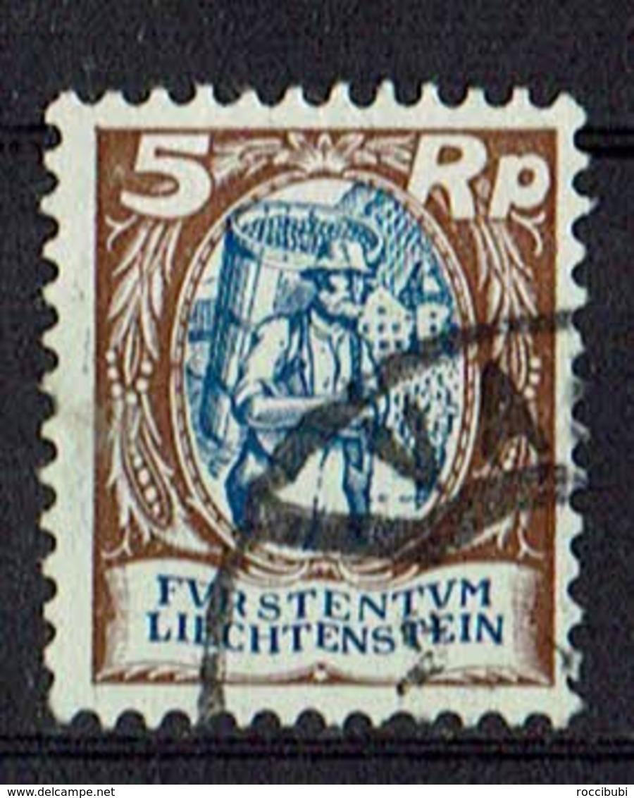 Liechtenstein 1925 // Mi. 66 O - Liechtenstein