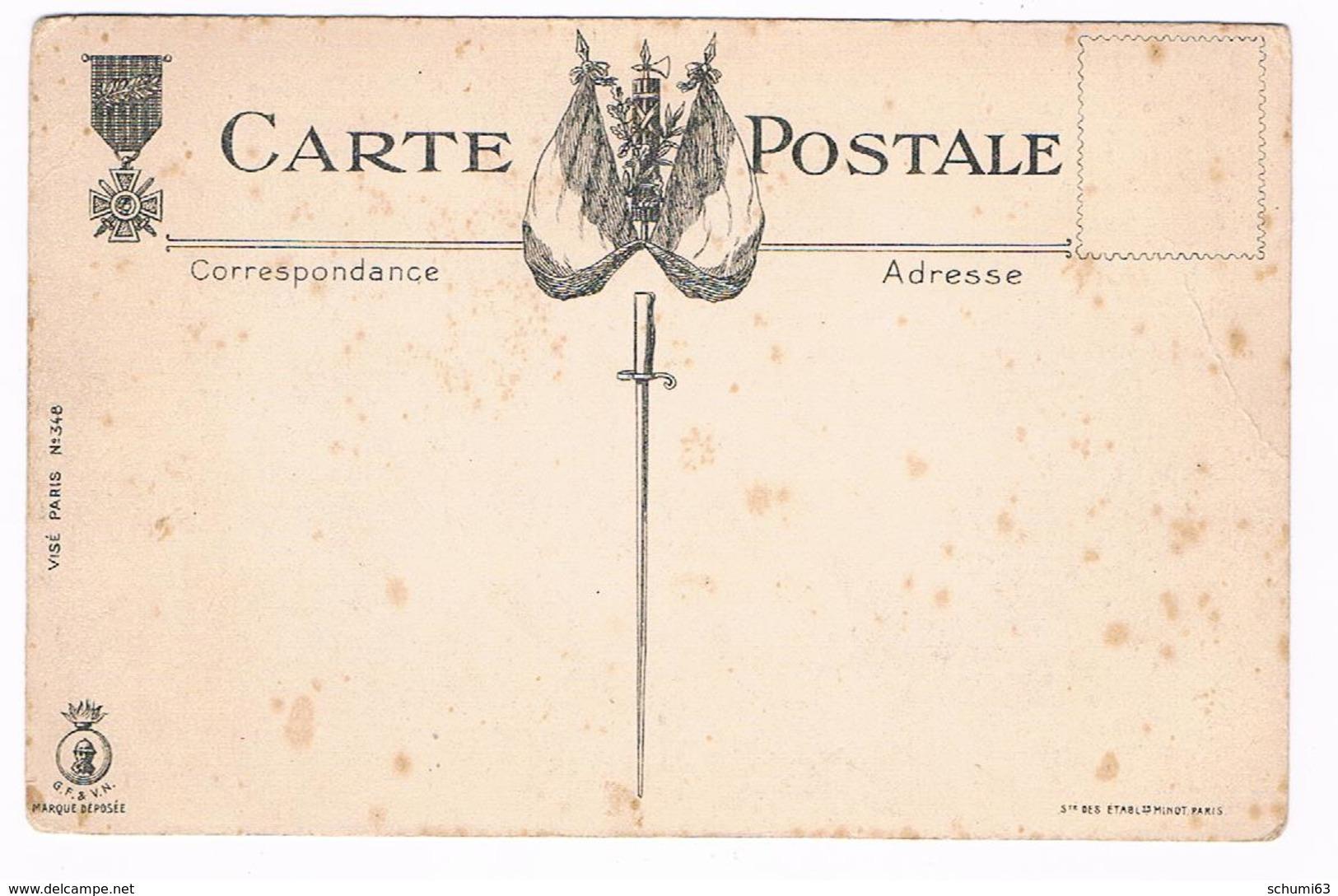 Cpa  Militaire- Illustrateur  GABARD - LE  BAIN  DOUCHE  - Dos Dessin Drapeau - Légion D'honneur - 5810  CH - Illustrateurs & Photographes