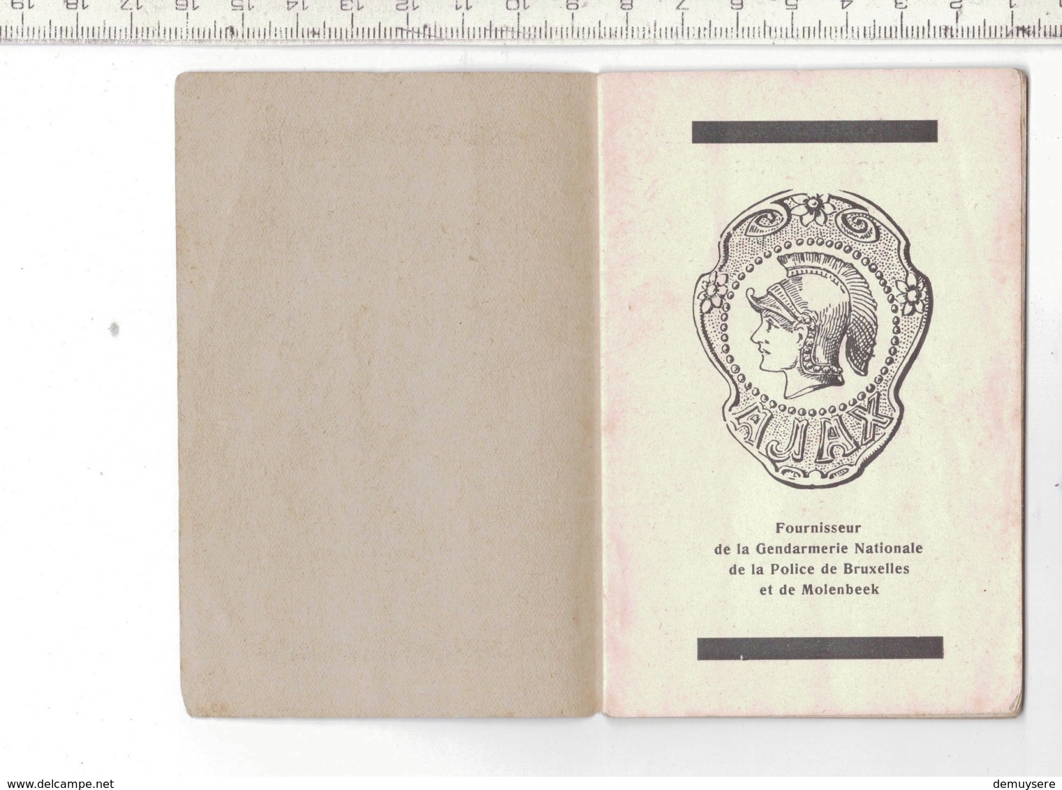 Kl 9372 - Comment Regler Mon Velo Ajax - Fournisseur De La Gendarmerie Nationale - Molenbeek - 16 PAGES - 7.7 X 11.8 CM - Publicités