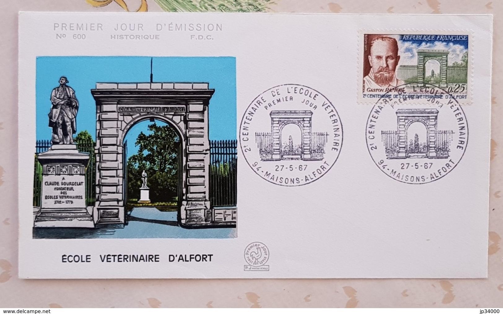FRANCE Veterinaire, Veterinary, Veterinario, Tierärztlich, Ecole Veterinaire Maison Alfort FDC 1969 - Medizin