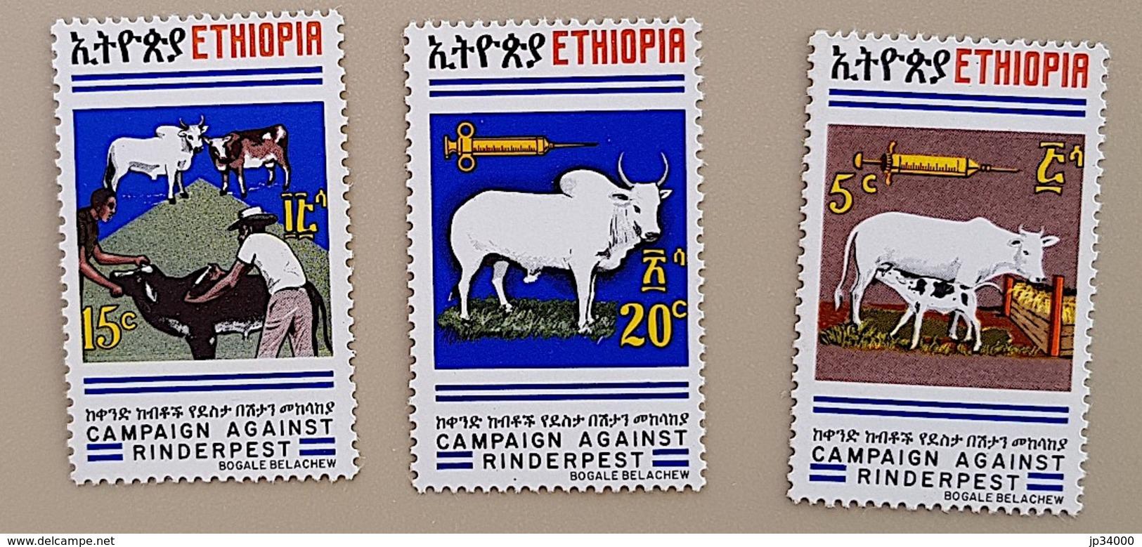AFRIQUE DU SUD Veterinaire, Veterinary, Veterinario, Tierärztlich. 3 Valeurs émises En 1980. MNH, NEUF SANS CHARNIERE - Medizin