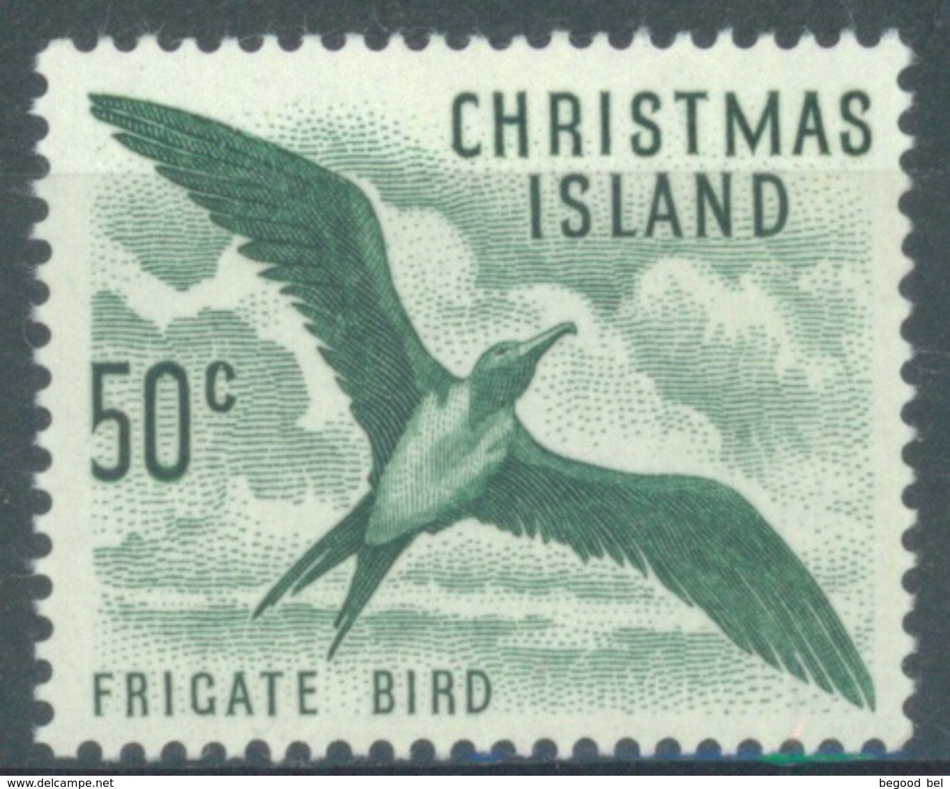 CHRISTMAS - MNH/** - 1963 - FRIGATE BIRD -  Yv 19 - Lot 17347 - Christmas Island