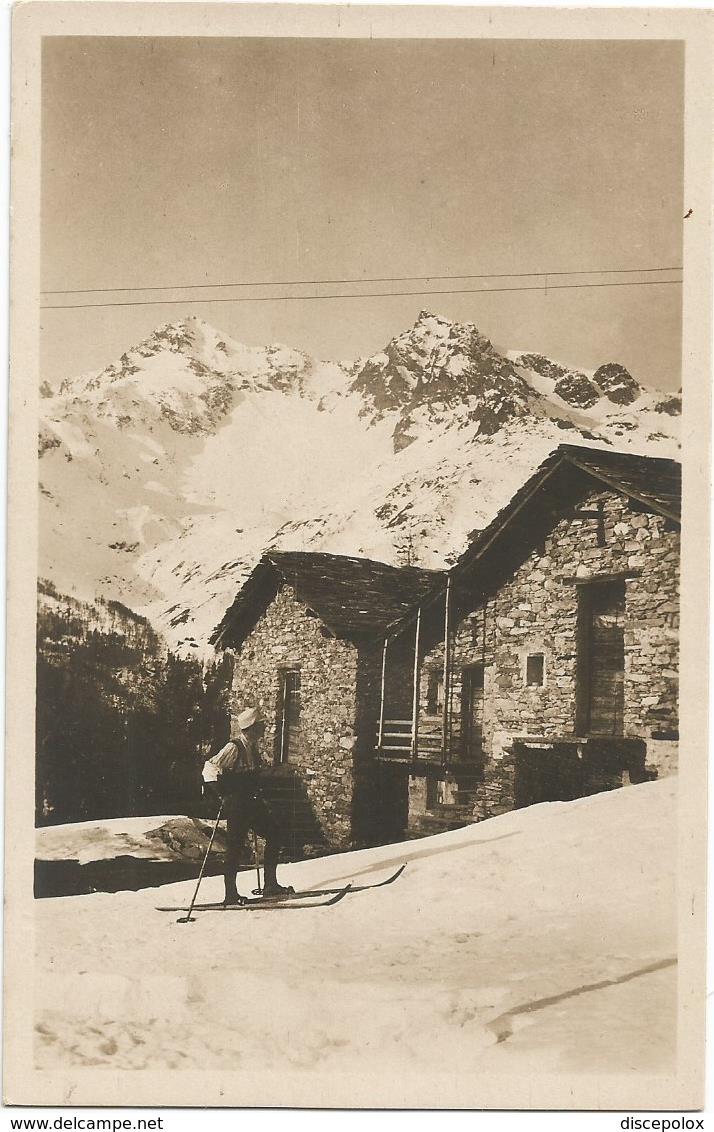 X3275 Valle Spluga (Sondrio) - Alpe Teggiate Col Pizzo Ferrè E Piani - Panorama / Non Viaggiata - Altre Città