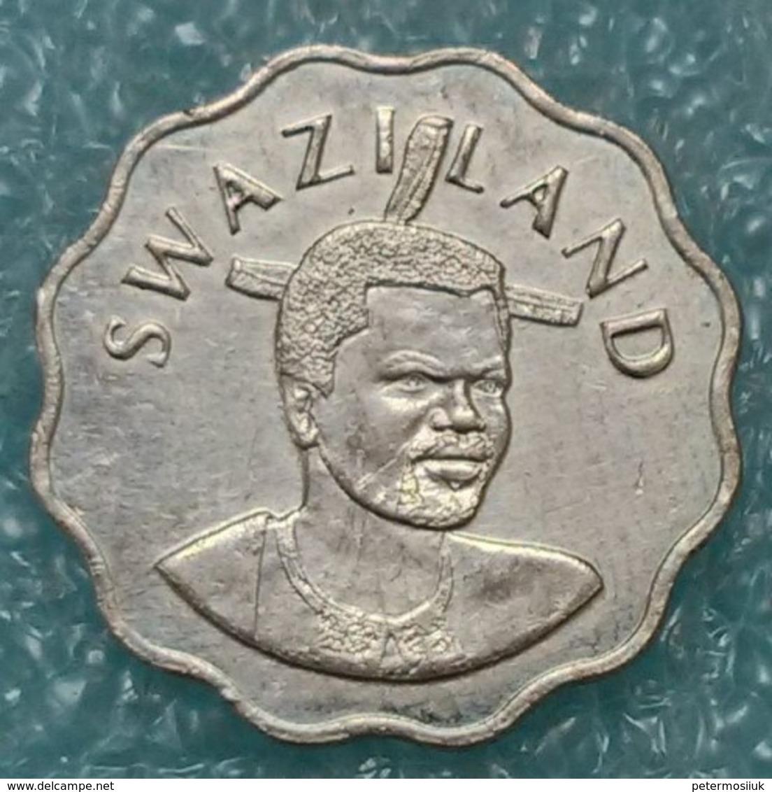Swaziland 5 Cents, 1996 - Swaziland
