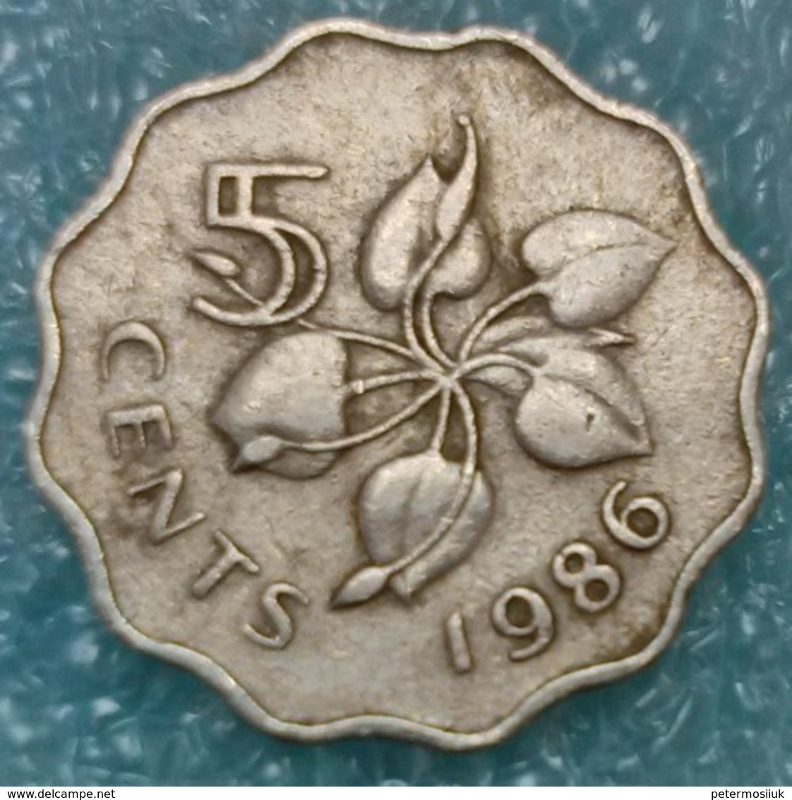 Swaziland 5 Cents, 1986 -0779 - Swaziland