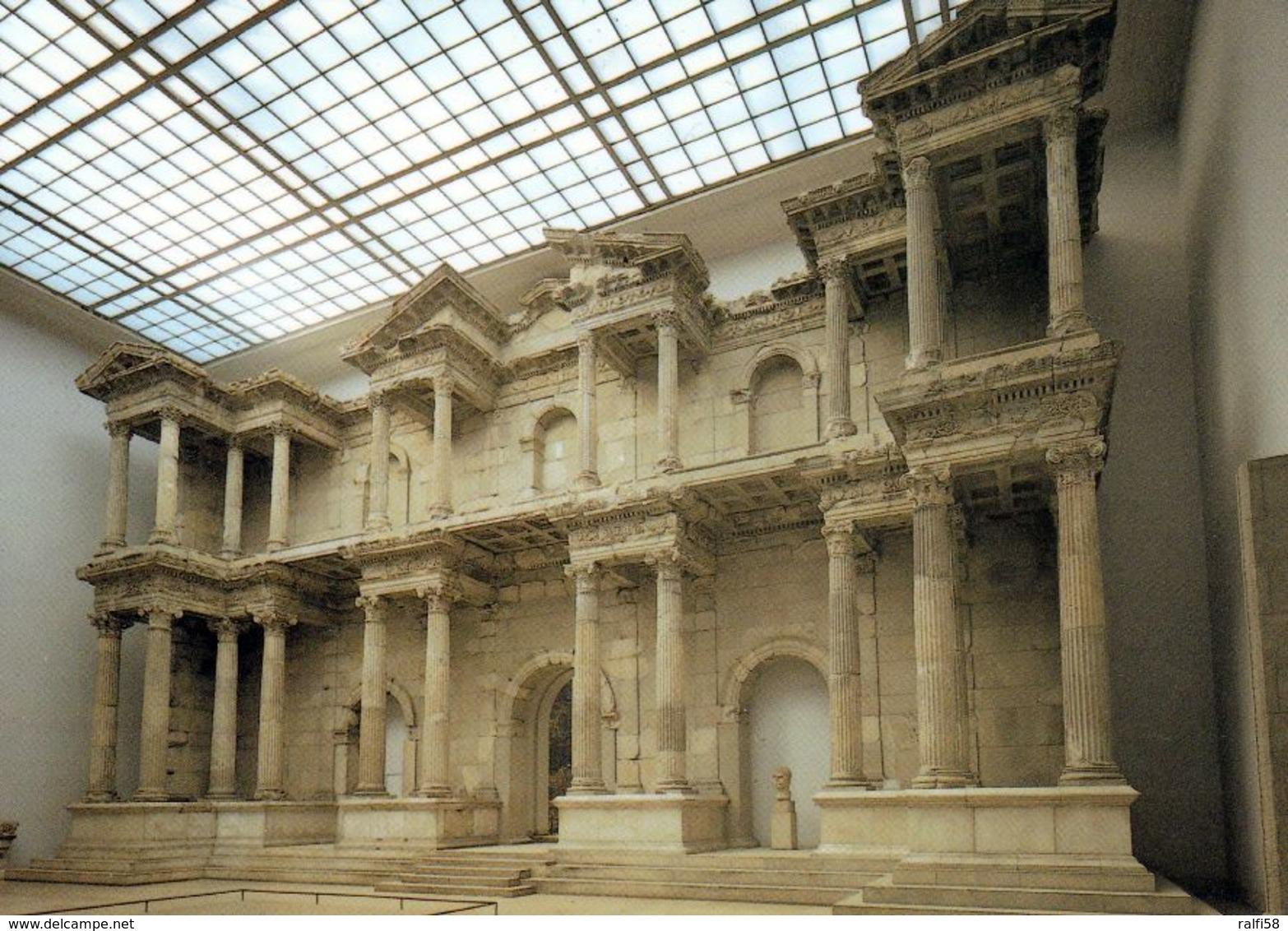 1 AK Germany Berlin * Markttor Von Milet Im Pergamonmuseum Auf Der Museumsinsel - Seit 1999 UNESCO Weltkulturerbe - Mitte