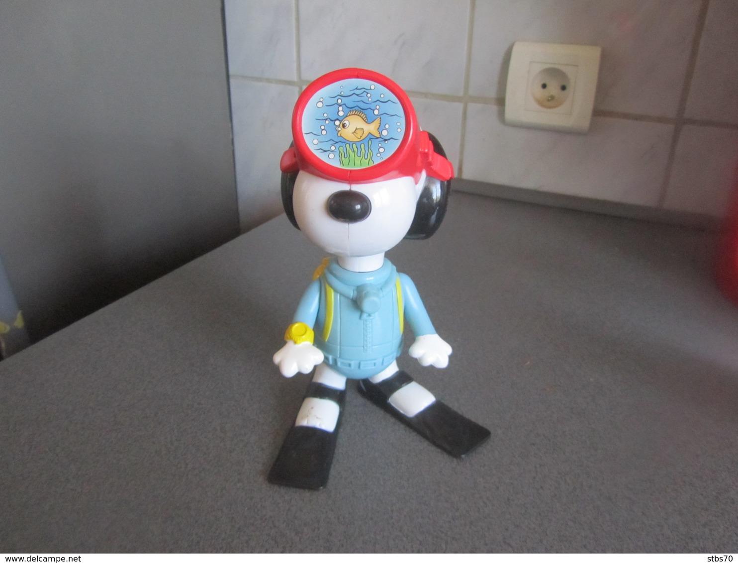 CE66 Figurine Snoopy Plongeur, 17,5 Cm - Snoopy