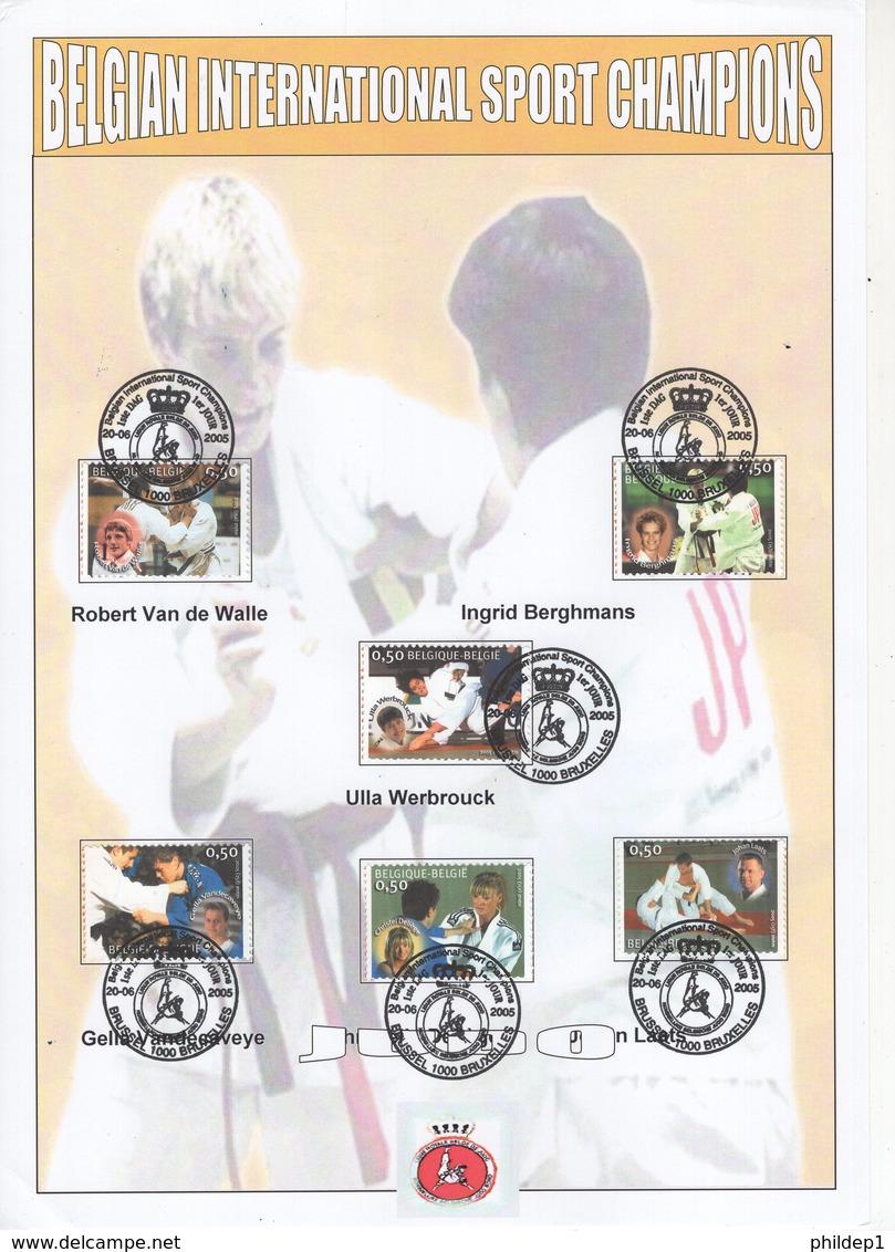 Belgique. Judo In België - Le Judo En Belgique. COB: N° 3407/12 Cote 2018: 10 € - FDC