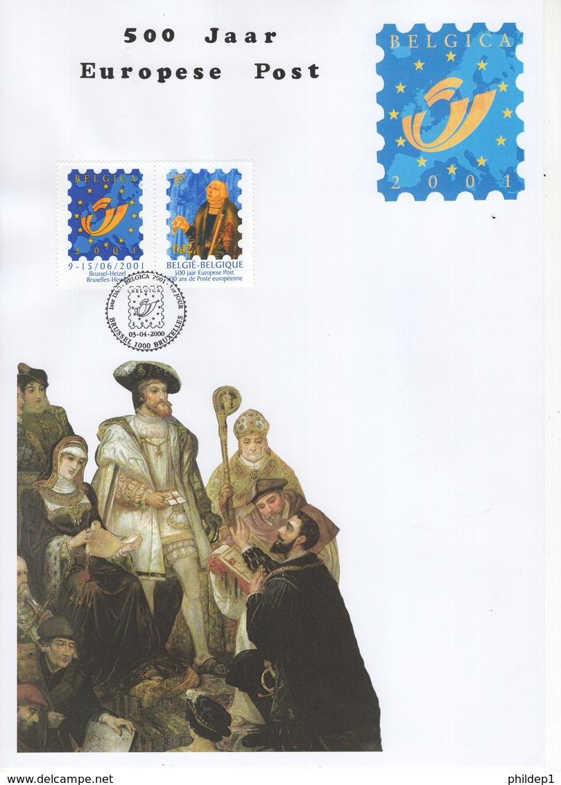 Belgique. 500 Jaar Europese Post. François De Tassis: N° 2901 Cote 2018: 4 € - FDC