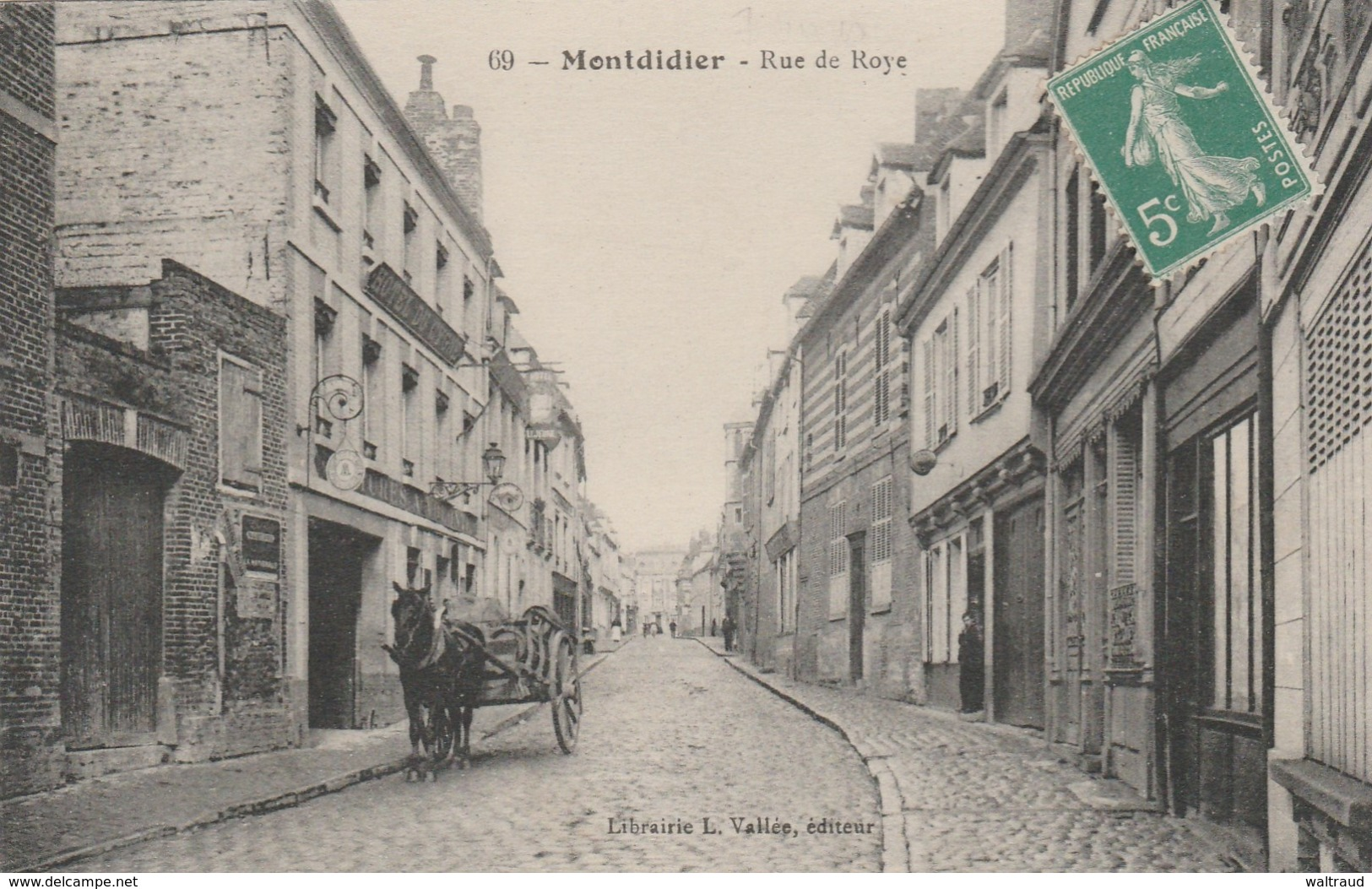 80--MONTDIDIER--RUE DE ROYE--TBE--VOIR SCANNER - Montdidier