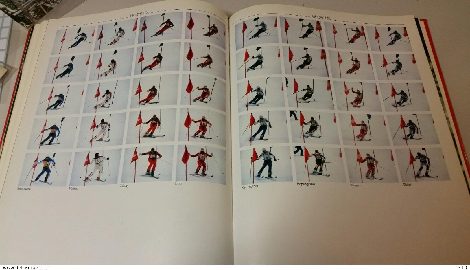 Olympic Games 1980 Mockba & Lake Placid Text & Photo Book - English German Italian - Sport & Cultura Segrate - Libri, Riviste, Fumetti