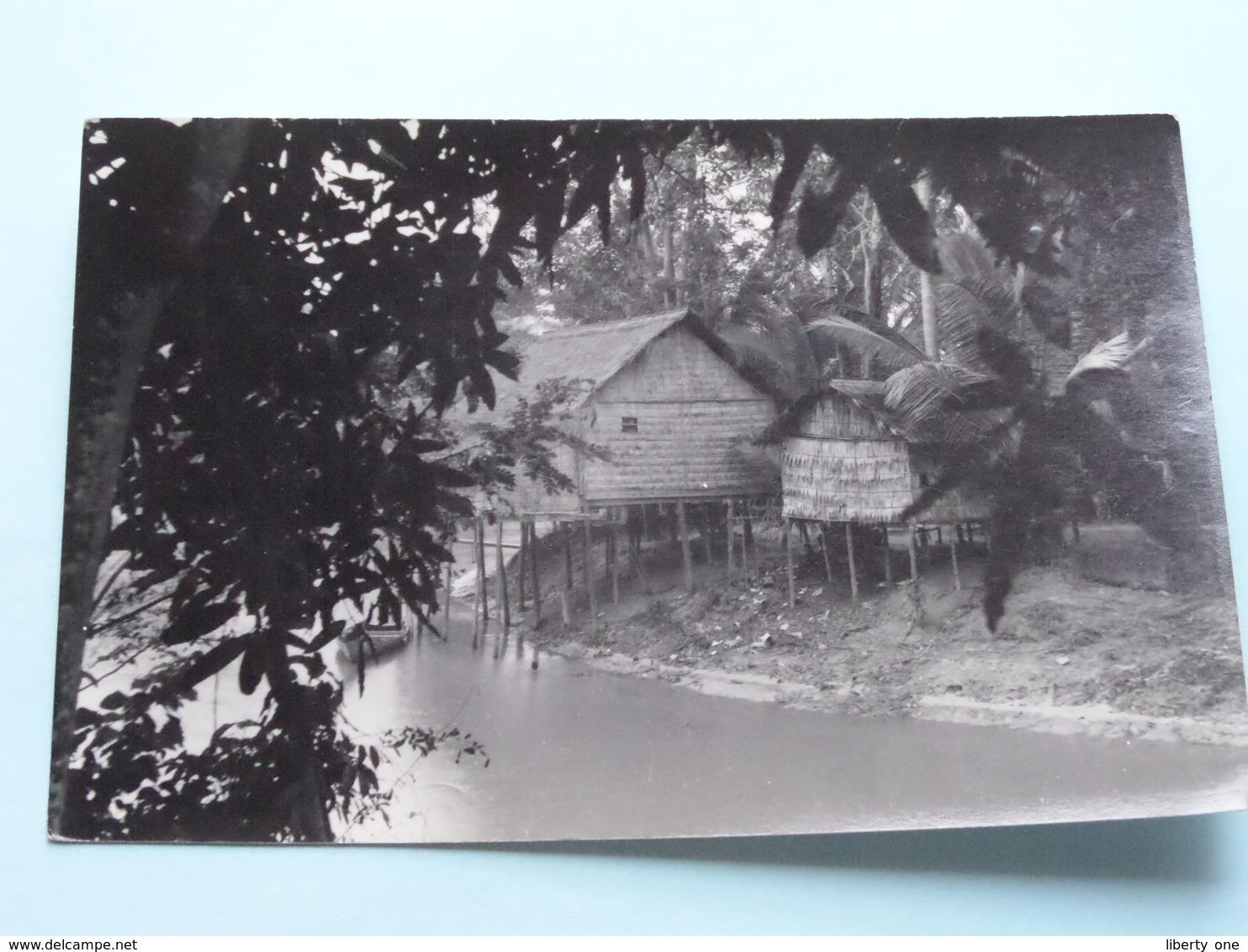 PAILLOTTES A SIEMREAP ( Hamre ) Anno 195? ( Zie Foto Details ) ! - Cambodge