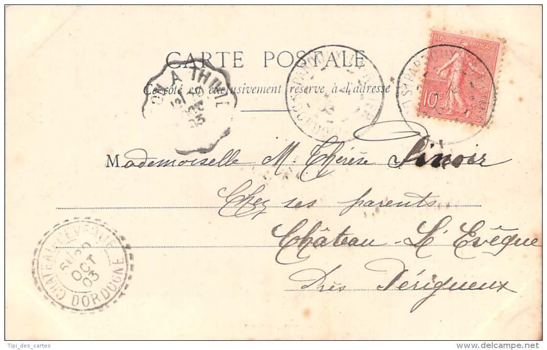 Bergeret - Chanteurs Des Cours, N°6, Manon Voici Le Soleil ... (cad Perlé Chateau-L'Evêque 1903) - Bergeret