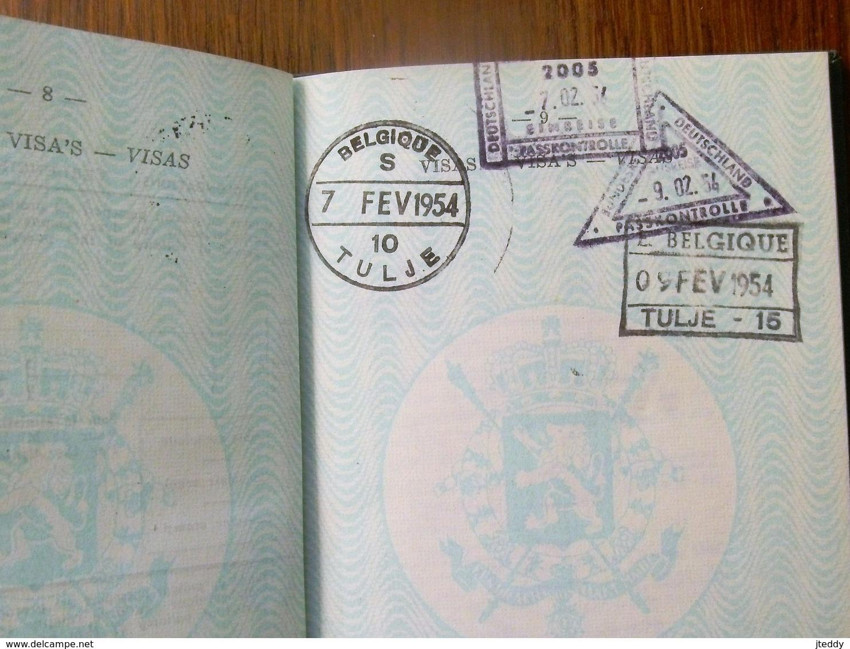 Reispas  LEROY  PAUL  Geb .   1912  Te FOREST - Titres De Transport