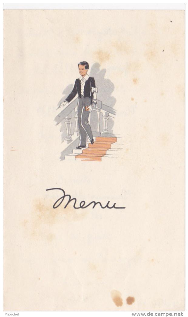 Menu Illustré Feuille Double De 1er Communion, 10 Mai 1953 - Menus