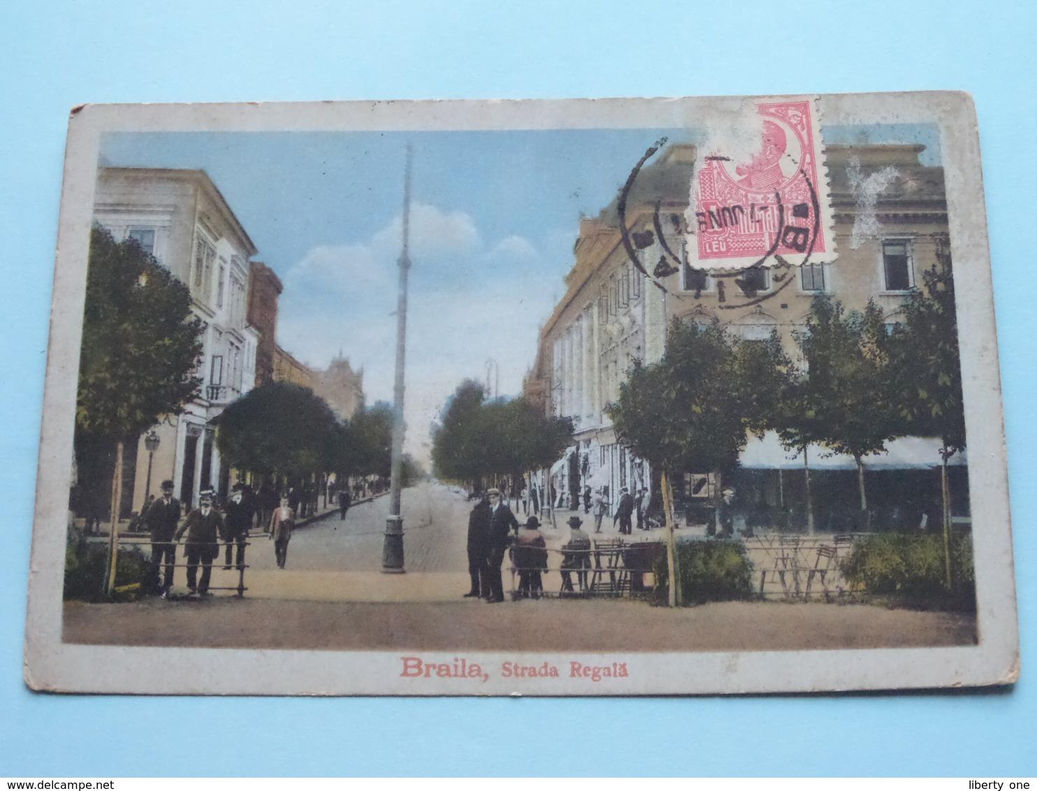 BRAILA - Strada REGALA ( 3288 ) Anno 1921 ( Zie Foto Details ) ! - Roumanie