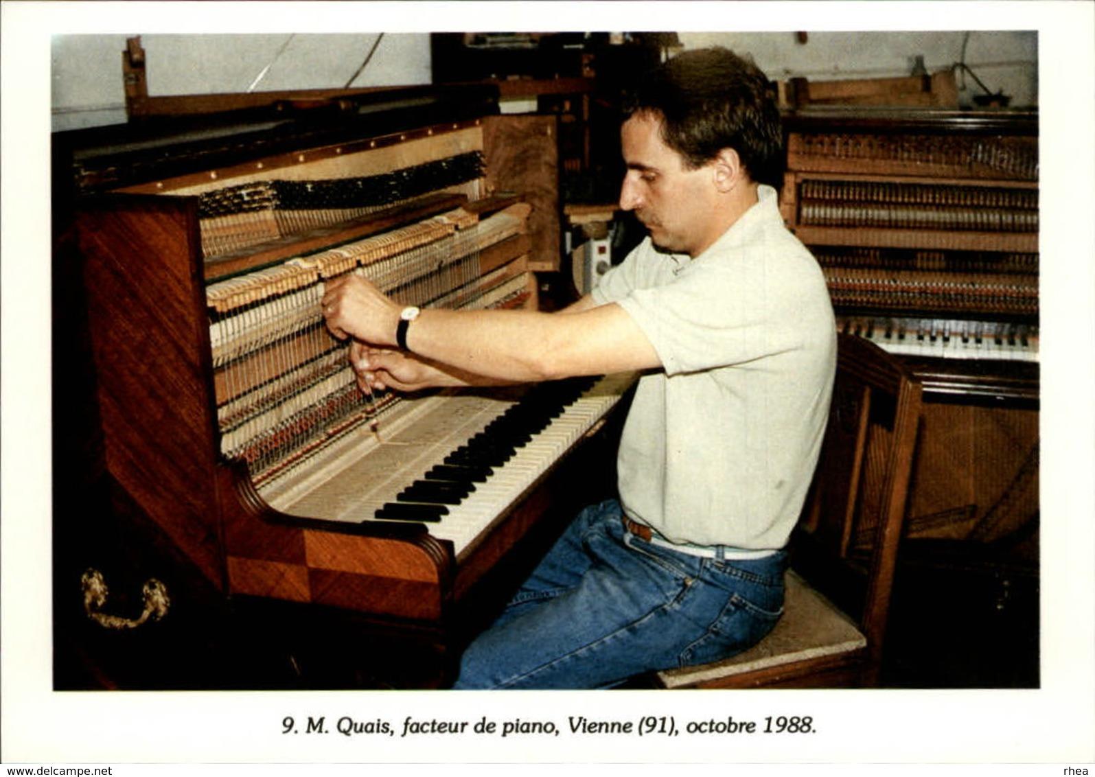 91 - VIENNE - Facteur De Piano - 1988 - Autres Communes