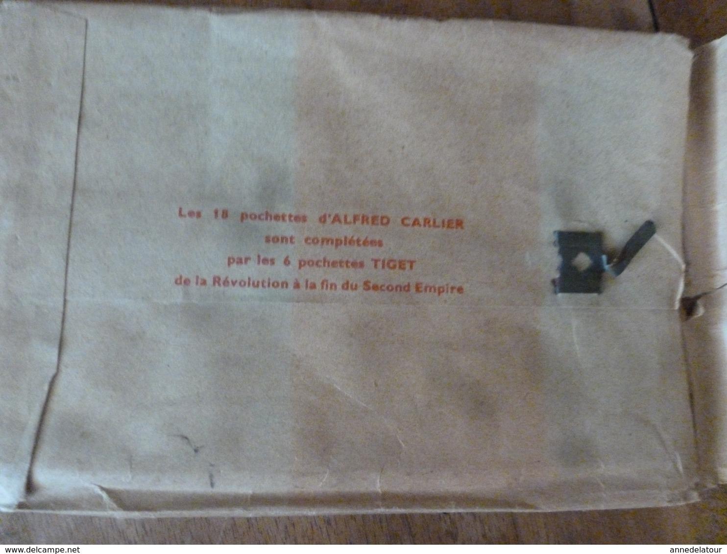Lot De 25 Cartes Postales ->pour Connaitre Notre Histoire :LES DERNIERS VALOIS ,par Alfred Carlier - Historia