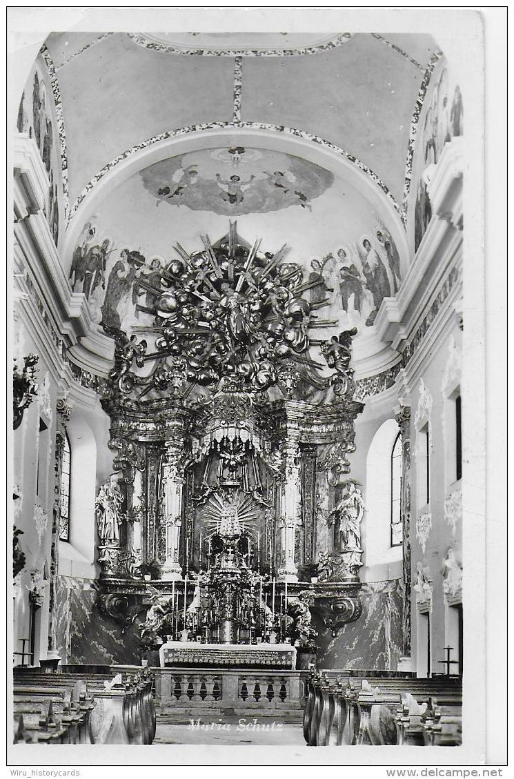 AK 0937  Maria Schutz Am Semmering - Gnadenaltar Der Wallfahrtskirche Um 1950 - Semmering