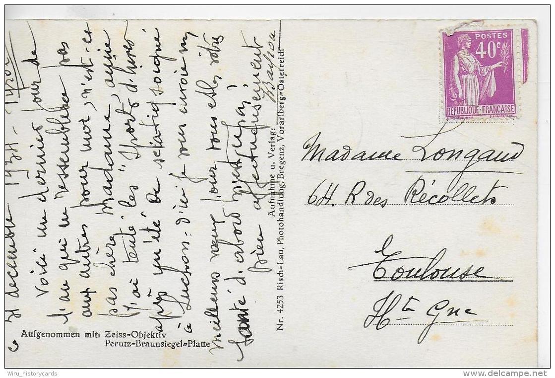 AK 0939  Gargellen Im Montafon - Verlag Risch Lau Um 1940-50 - Schruns