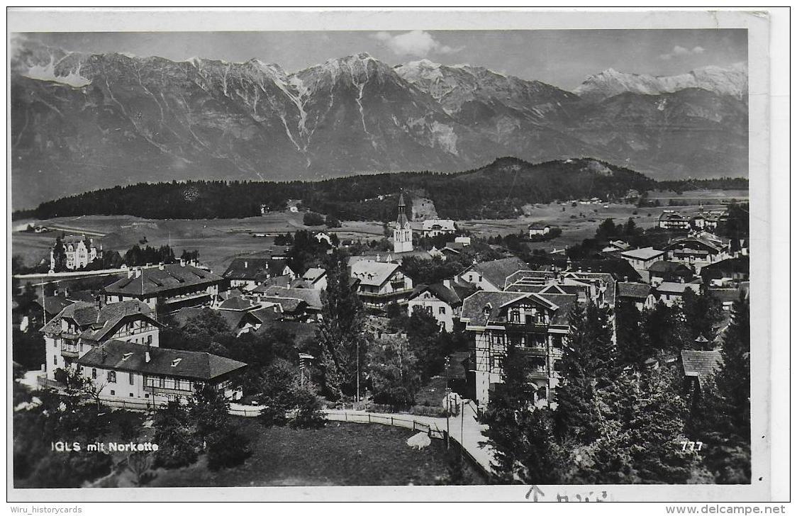AK 0939  Igls Mit Nordkette - Verlag Chizzali Um 1949 - Igls