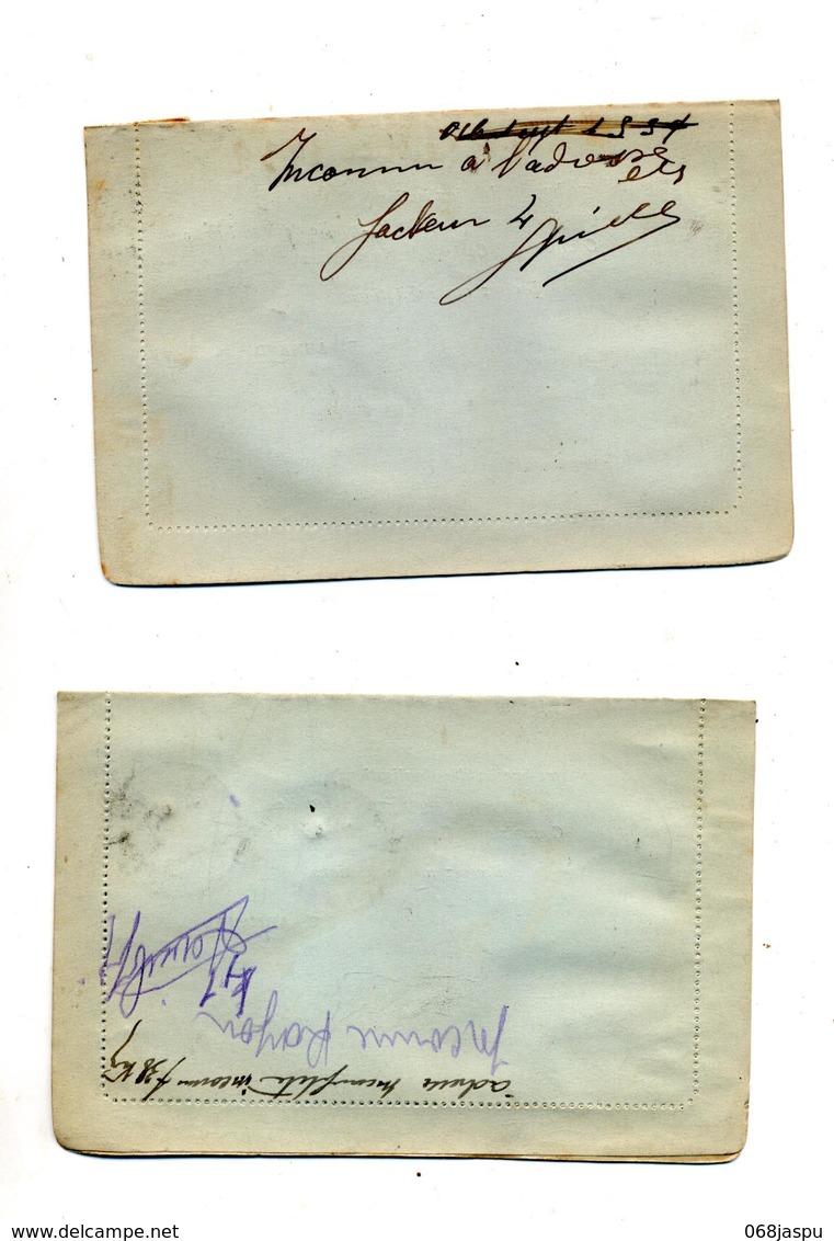 Lettre Recommandee Nice Sur Ceres + Retour + Mention Ecrite Au Dos - Marcophilie (Lettres)