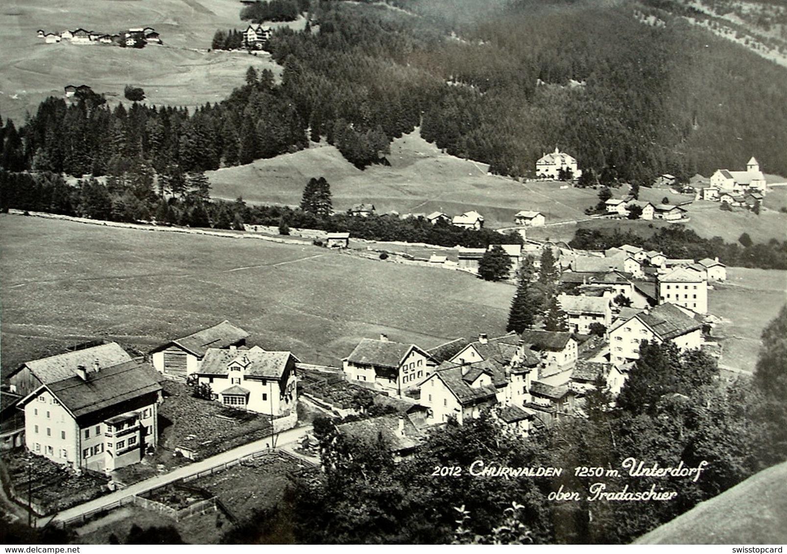 CHURWALDEN Unterdorf - GR Grisons
