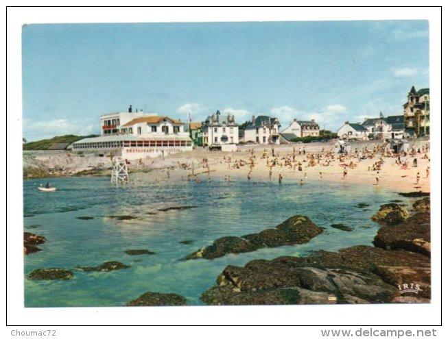 GF (44) 117, Le Croisic, LUMICAP 1733, L'Hotel De L'Océan Et La Plage De Port Lin - Le Croisic