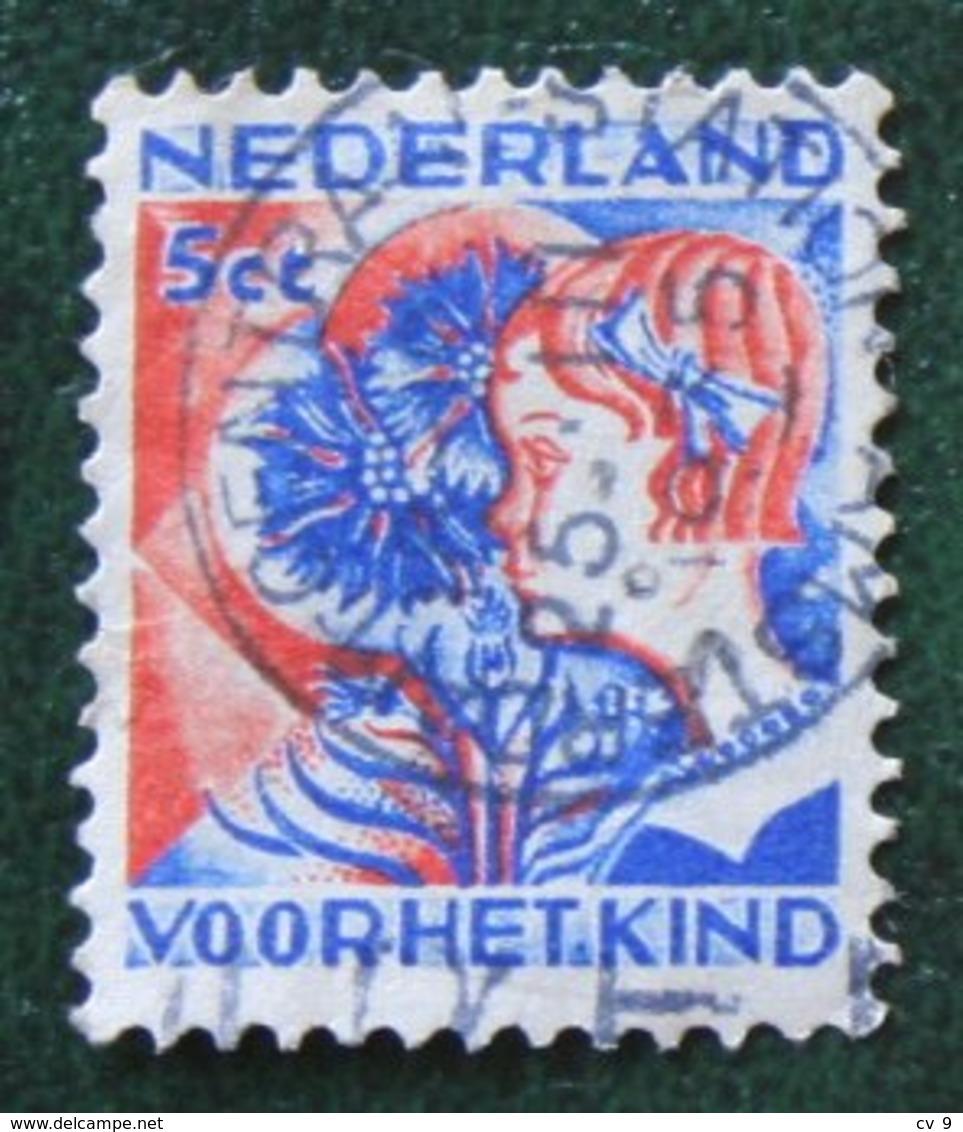 5 + 3 Ct Kinderzegel Child Welfare Enfants Kinder NVPH 249 (Mi 254) 1932 Gestempeld USED NEDERLAND / NIEDERLANDE - Period 1891-1948 (Wilhelmina)