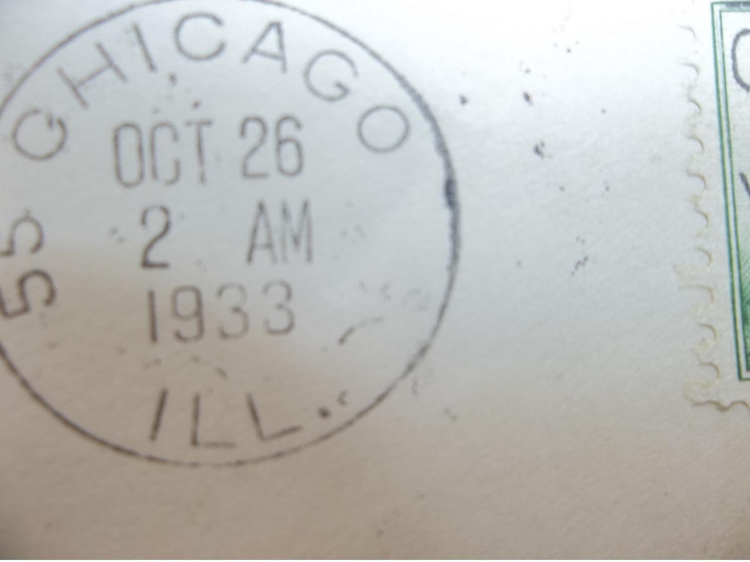 USA: 1933 50c. Graf Zeppelin Air Cover To Loetsdale, Penn, USA (#YE3) - Verenigde Staten