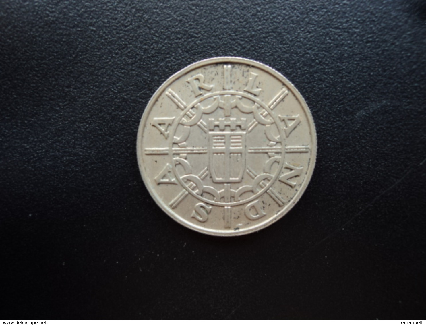 SARRE : 100 FRANKEN   1955   KM 4      SUP - Sarre