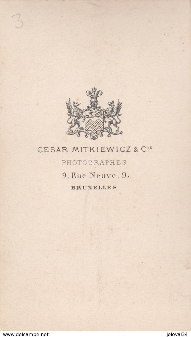 Photo Carte De Visite N° 3 - Cesar Mitkiewicz Bruxelles - Homme Militaire - Photos