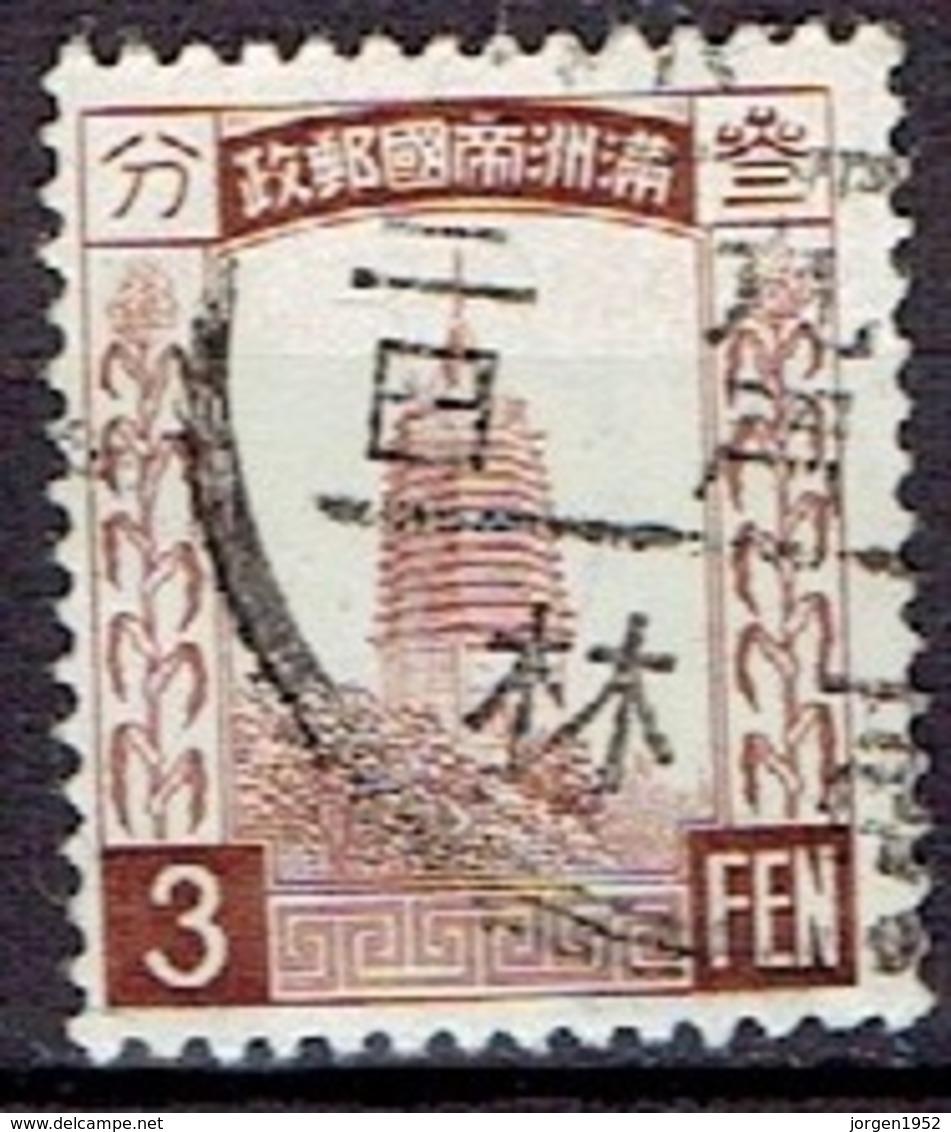 CHINA # MANCHURIA  FROM 1933 STAMPWORLD 27 - Manchuria 1927-33