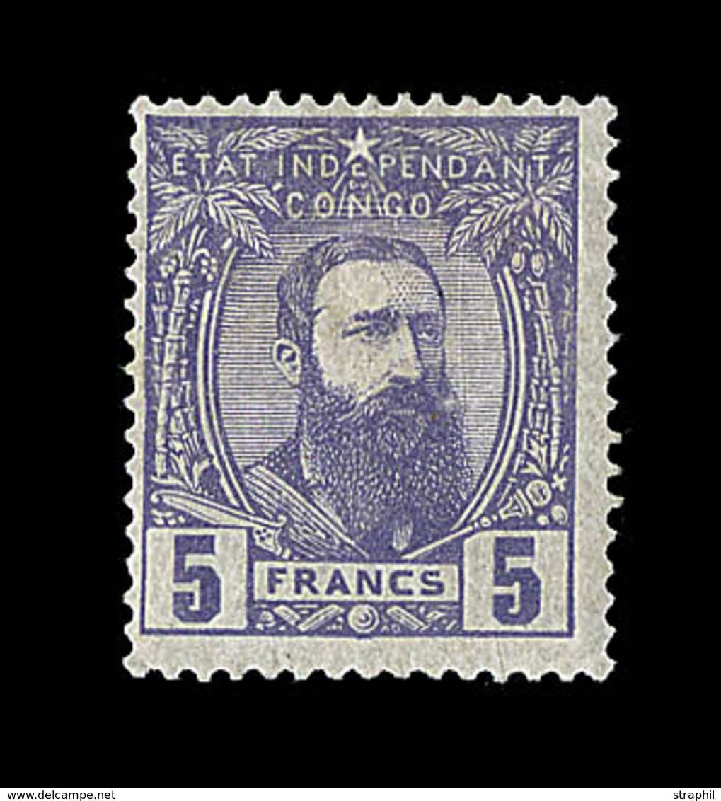 * N°11 - 5F Violet - TB - Belgian Congo