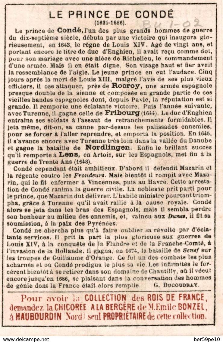 CHROMO CHICOREE A LA BERGERE EMILE BONZEL HAUBOURDIN  N° 87 CONDE - Cromo