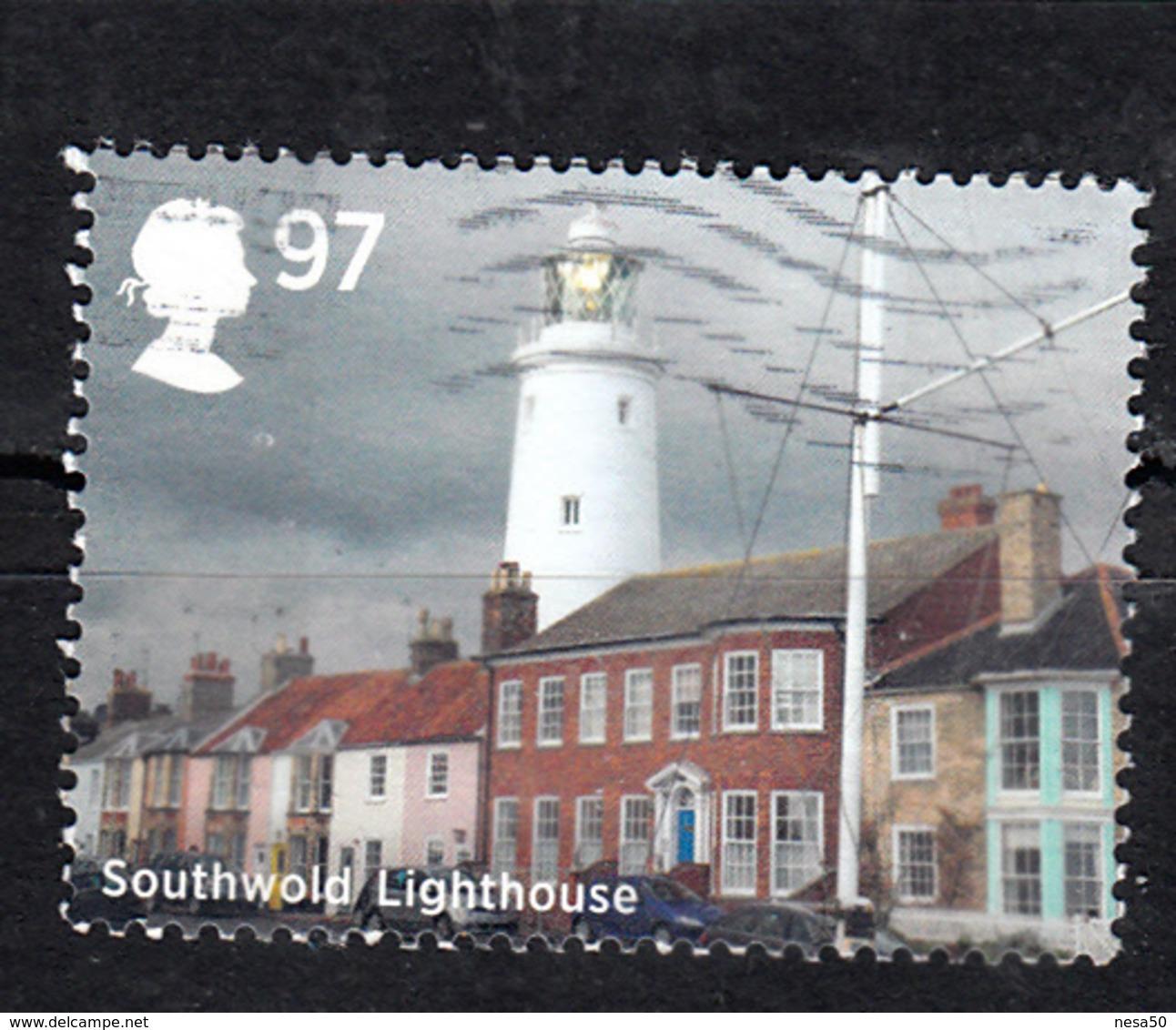 Vuurtoren, Lighthouse Groot-Brittannië 2014 Mi Nr 3639 Southwold - Lighthouses