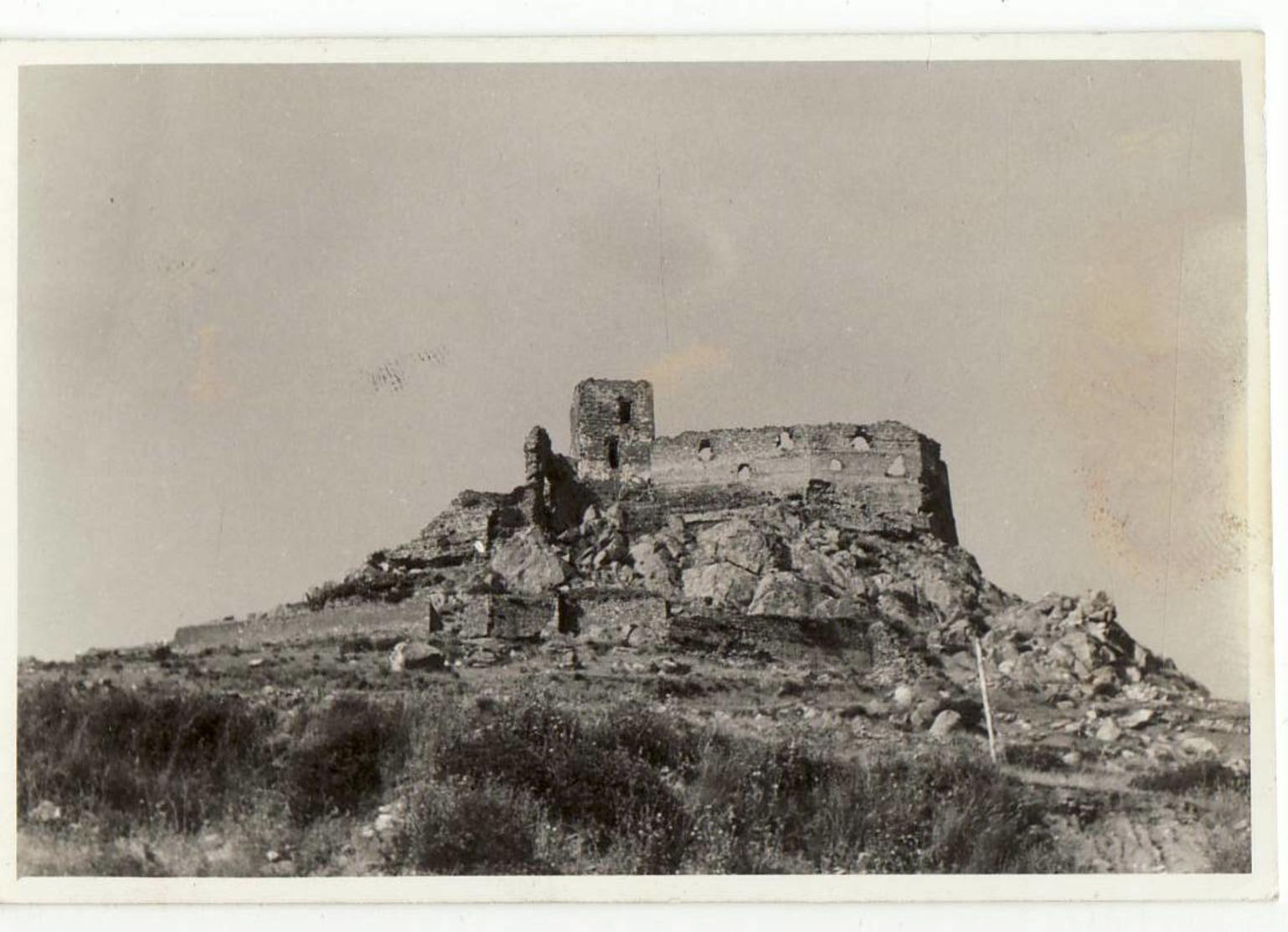 6837 FOTO SASSARI CASTELLO DI BURGOS Cm 9x6,5 Circa - Lieux
